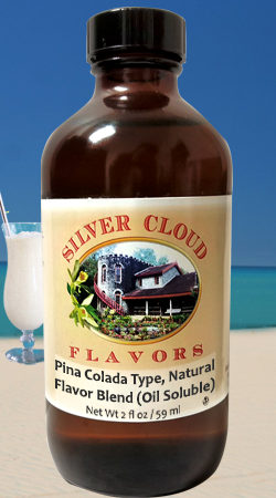 Pina Colada Type, Natural Flavor Blend (Oil Soluble)